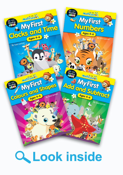 ABC Mathseeds Get Maths Ready Book Pack