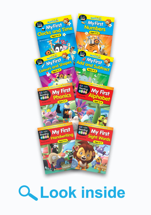 ABC Reading Eggs and ABC Mathseeds Get Reading and Maths Ready Book Pack