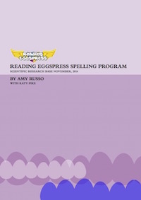 reading eggs/eggspress spelling research report